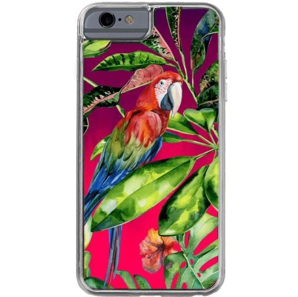 ETUI LIQUID NEON NA TELEFON APPLE IPHONE 6 / 6S Różowy TROPIC-18