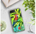 ETUI LIQUID NEON NA TELEFON APPLE IPHONE 7 PLUS / 8 PLUS Zielony TROPIC-18