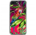 ETUI LIQUID NEON NA TELEFON APPLE IPHONE 7 PLUS / 8 PLUS Różowy TROPIC-18