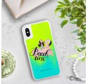 ETUI LIQUID NEON NA TELEFON APPLE IPHONE X / XS Zielony ST_FBT103