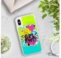 ETUI LIQUID NEON NA TELEFON APPLE IPHONE X / XS Zielony ST_PCN101
