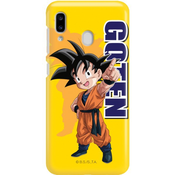 ETUI SMOOTH DRAGON BALL NA TELEFON SAMSUNG GALAXY A20E DBS-4