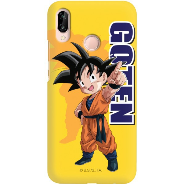 ETUI SMOOTH DRAGON BALL NA TELEFON HUAWEI P20 LITE DBS-4