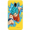 ETUI SMOOTH DRAGON BALL NA TELEFON SAMSUNG GALAXY J4 2018 DBS-33