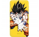 ETUI SMOOTH DRAGON BALL NA TELEFON SAMSUNG GALAXY J4 2018 DBZ-1