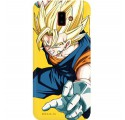 ETUI SMOOTH DRAGON BALL NA TELEFON SAMSUNG GALAXY J6 PLUS 2018 DBZ-2