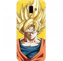 ETUI SMOOTH DRAGON BALL NA TELEFON SAMSUNG GALAXY J6 PLUS 2018 DBZ-14