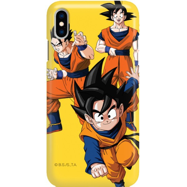 ETUI SMOOTH DRAGON BALL NA TELEFON APPLE IPHONE XS MAX DBZ-16