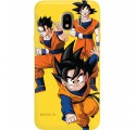 ETUI SMOOTH DRAGON BALL NA TELEFON SAMSUNG GALAXY J4 2018 DBZ-16