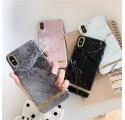 ETUI CHIC MARBLE MARMUR NA TELEFON IPHONE 7 PLUS / 8 PLUS SZARY