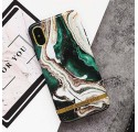 ETUI CHIC MARBLE MARMUR NA TELEFON IPHONE 6 PLUS / 6S PLUS ZIELONY