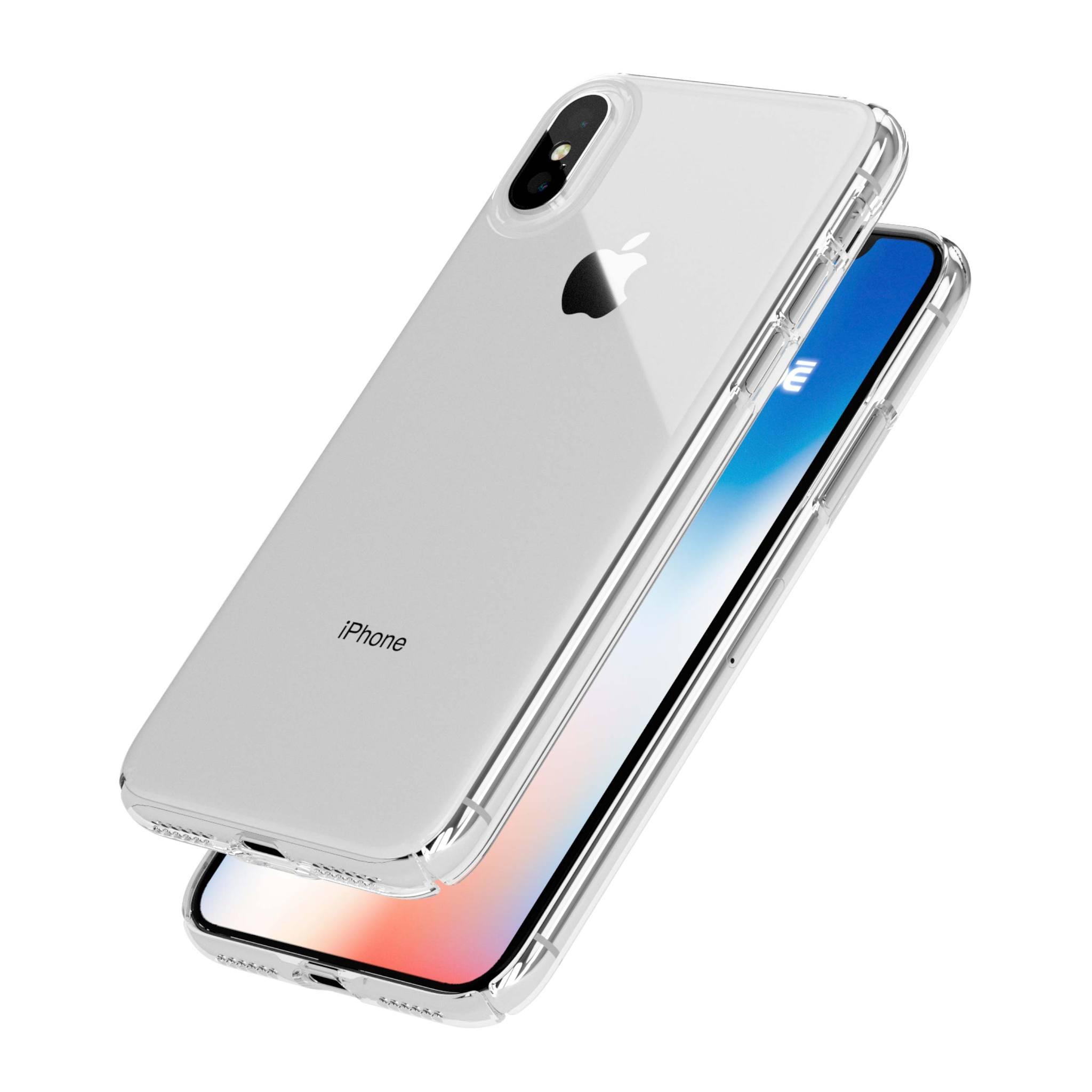 ETUI CLEAR GLASS NA TELEFON IPHONE X / XS