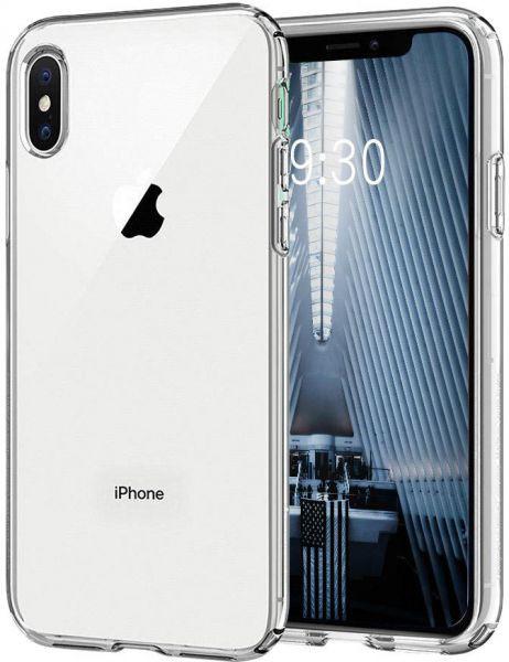ETUI CLEAR GLASS NA TELEFON IPHONE XS MAX