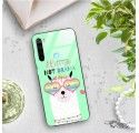 ETUI BLACK CASE GLASS NA TELEFON XIAOMI REDMI NOTE 8 ST_ALP104