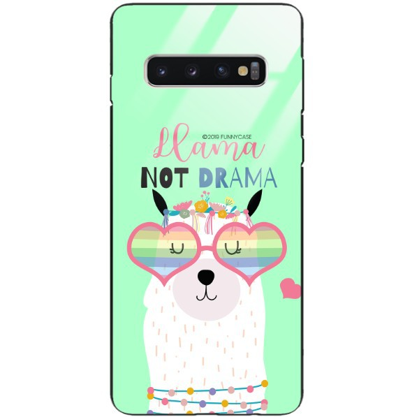 ETUI BLACK CASE GLASS NA TELEFON SAMSUNG GALAXY S10 ST_ALP104
