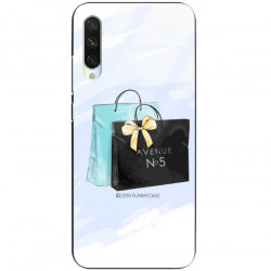 ETUI BLACK CASE GLASS NA TELEFON XIAOMI MI A3 ST_FAN101