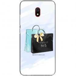 ETUI BLACK CASE GLASS NA TELEFON XIAOMI REDMI 8A ST_FAN101