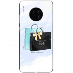 ETUI BLACK CASE GLASS NA TELEFON HUAWEI MATE 30 PRO ST_FAN101