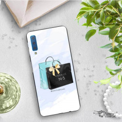 ETUI BLACK CASE GLASS NA TELEFON SAMSUNG GALAXY A7 2018 ST_FAN101