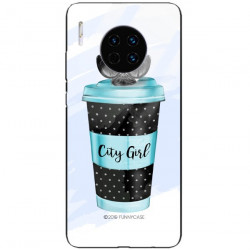 ETUI BLACK CASE GLASS NA TELEFON HUAWEI MATE 30 PRO ST_FAN102
