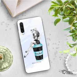 ETUI BLACK CASE GLASS NA TELEFON XIAOMI MI A3 ST_FAN103