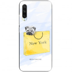 ETUI BLACK CASE GLASS NA TELEFON XIAOMI MI A3 ST_FAN104