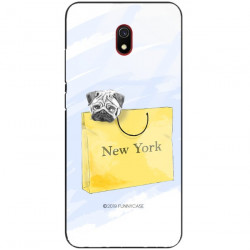 ETUI BLACK CASE GLASS NA TELEFON XIAOMI REDMI 8A ST_FAN104