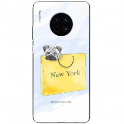 ETUI BLACK CASE GLASS NA TELEFON HUAWEI MATE 30 PRO ST_FAN104