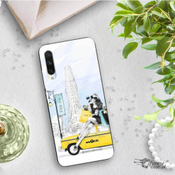 ETUI BLACK CASE GLASS NA TELEFON XIAOMI MI A3 ST_FAN106
