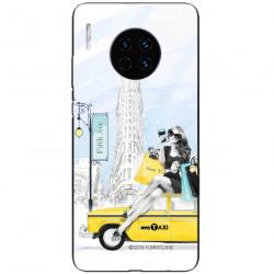 ETUI BLACK CASE GLASS NA TELEFON HUAWEI MATE 30 PRO ST_FAN106