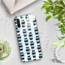 ETUI BLACK CASE GLASS NA TELEFON XIAOMI MI A3 ST_FAN110