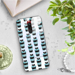 ETUI BLACK CASE GLASS NA TELEFON XIAOMI REDMI 8 ST_FAN110