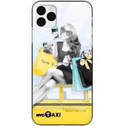 ETUI BLACK CASE GLASS NA TELEFON APPLE IPHONE 11 PRO MAX ST_FAN112