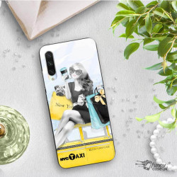 ETUI BLACK CASE GLASS NA TELEFON XIAOMI MI A3 ST_FAN112