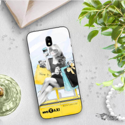 ETUI BLACK CASE GLASS NA TELEFON SAMSUNG GALAXY J7 2017 ST_FAN112