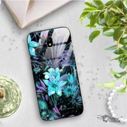 ETUI BLACK CASE GLASS NA TELEFON SAMSUNG GALAXY J7 2017 ST_FDJ104