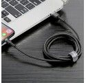 KABEL USB BASEUS 50cm IPHONE 5G CZARNY
