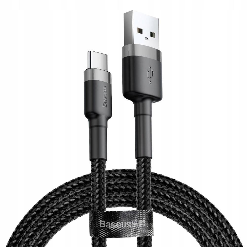 KABEL USB BASEUS 50cm TYP C CZARNY