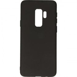 ETUI GUMA SMOOTH SAMSUNG GALAXY S9 PLUS G965 CZARNY