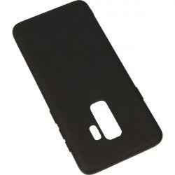GUMA SMOOTH ETUI NA TELEFON SAMSUNG GALAXY S9 PLUS G965 CZARNY