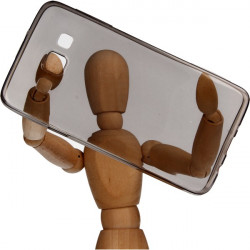 ETUI CLEAR NA TELEFON SAMSUNG GALAXY A3 CZARNY