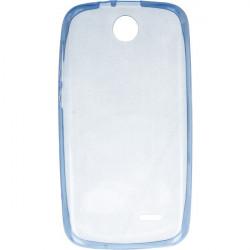 ETUI CLEAR NA TELEFON HTC DESIRE 310 NIEBIESKI
