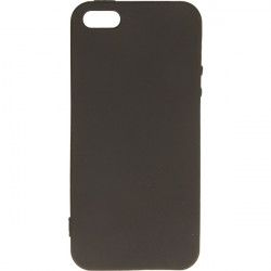 ETUI GUMA SMOOTH IPHONE 5G CZARNY