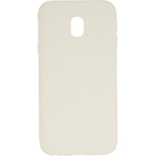 GUMA SMOOTH ETUI NA TELEFON SAMSUNG GALAXY J3 2017 J330 BIAŁY