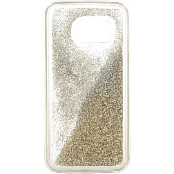 GUMA LIQUID PEARL ETUI NA TELEFON SAMSUNG GALAXY S7 G930 SREBRNY