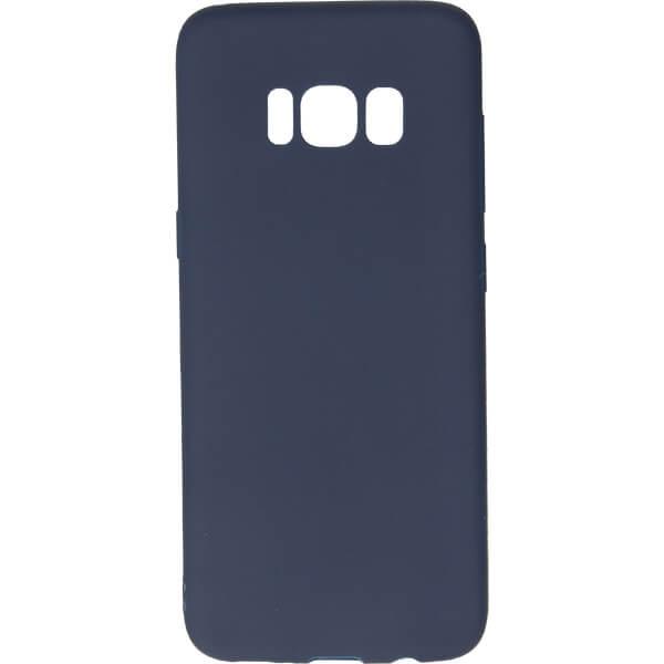 GUMA SMOOTH ETUI NA TELEFON SAMSUNG GALAXY S8 G950 GRANATOWY