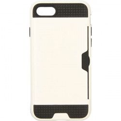 CARD CASE ETUI NA TELEFON IPHONE 7 4.7'' 8 4.7'' A1660 /A1863 BIAŁY
