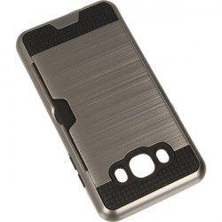CARD CASE ETUI NA TELEFON SAMSUNG GALAXY J5 2016 J510 SREBRNY