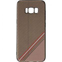 GRID CASE ETUI NA TELEFON SAMSUNG GALAXY S8 SM-G950F BRĄZOWY