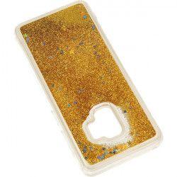GUMA LIQUID ETUI NA TELEFON SAMSUNG GALAXY S9 G960 ZŁOTY